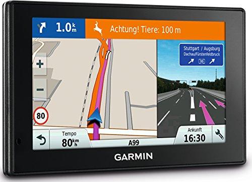 Garmin DriveSmart 60 LMT-D EU Navigationsgerät (15,2cm (6 Zoll) Touch-Glasdisplay, lebenslange Kartenupdates, Verkehrsfunklizenz, Sprachsteuerung)