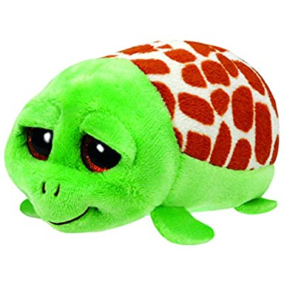 Ty Cruiser Turtle - Teeny 4 inch - Stuffed Animal (42143) Beanies: Toys & Games