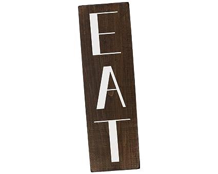 Elegant Signs Kitchen EAT Sign Farmhouse Decor