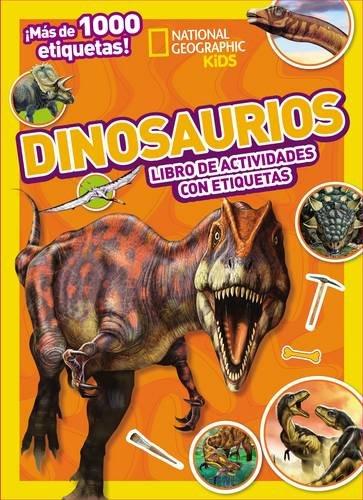 Dinosaurios colecci%C3%B3n etiquetas National Geographic