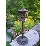 Cheap Oakland Living Lantern Bird House, Antique Bronze