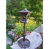Oakland Living Lantern Bird House, Antique Bronze Review and Comparison