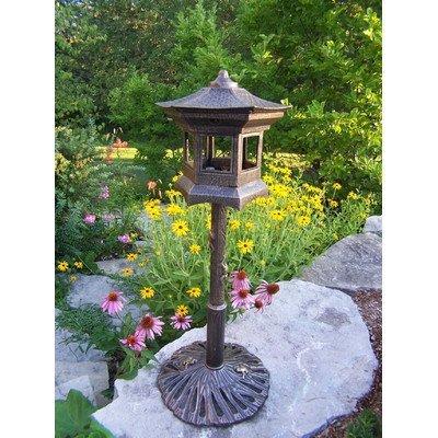 Cheap Oakland Living Lantern Bird House, Antique Bronze