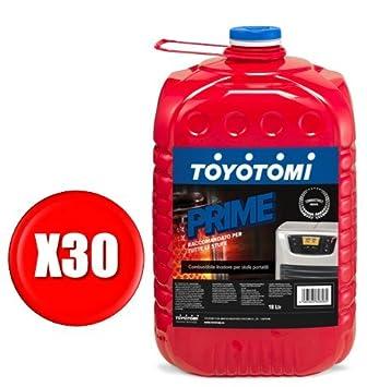 Toyotomi Prime Combustible Universal Super INODORE para estufas portátil: Amazon.es: Bricolaje y herramientas