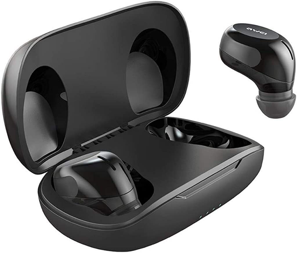 TeaBoy True Wireless Earbuds, Bluetooth 5.0 Earphones Sports HD Stereo Touch Control Ear Buds with IPX4/Fast Connection/Mini Case/Total 16H Playtime Headphones for iPhone Samsung and Android Phones