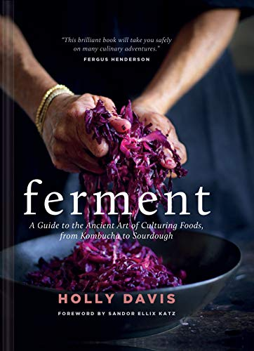 Ferment: A Guide to the Ancient Art of Culturing Foods, from Kombucha to Sourdough by Holly Davis