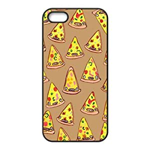 super shining day Cellphone Accessories Pepperoni Pizza Apple iPhone 5/5S TPU Material Shell