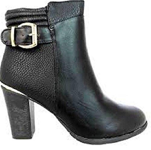 Bottes pour Fashion amp;P Femme FLB421 noir M Noir qx16wBtqf