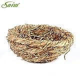Saim Straw Bird Nest House for Small Birds