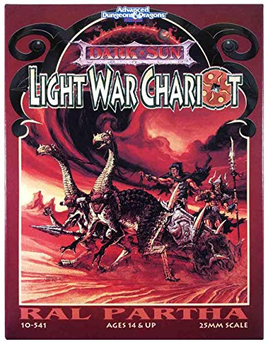 Official AD&D Miniatures - Dark Sun Light War Chariot from Official AD&D Miniatures - Dark Sun