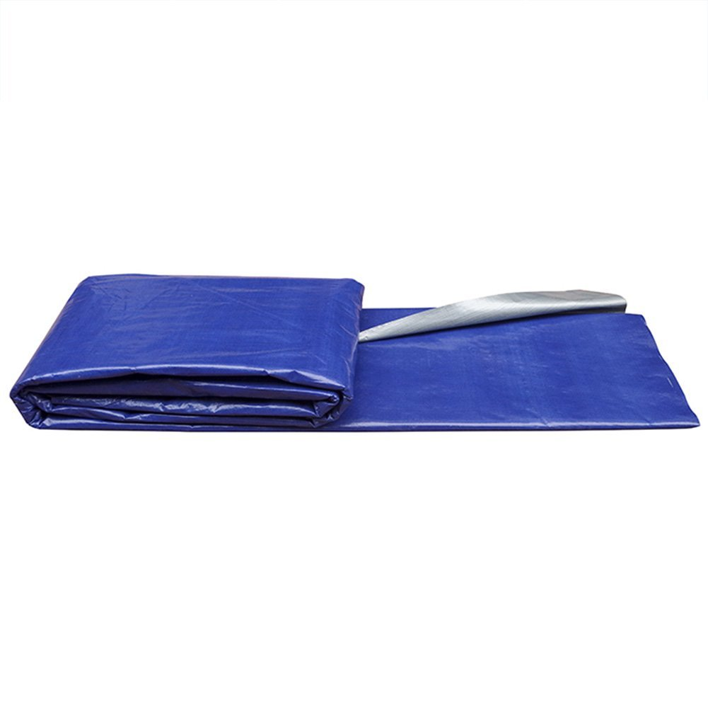 QAR Blau Silber Tuch Zelt Tuch Sonnenschirm Markise Tuch Wasserdicht und Wasserdicht Zelt