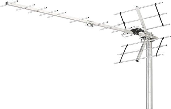 Triax Digi 18 Exterior - Antena (Exterior, Aluminio, Aluminio ...