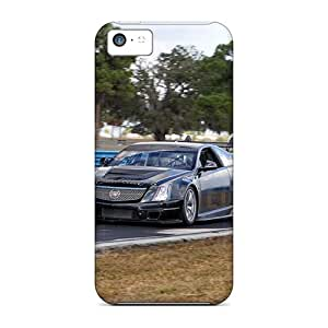 KellyLast Iphone 5c Scratch Resistant Hard Phone Cover Allow Personal Design Stylish Cadillac Cts V Pattern [noH1888qZdG]