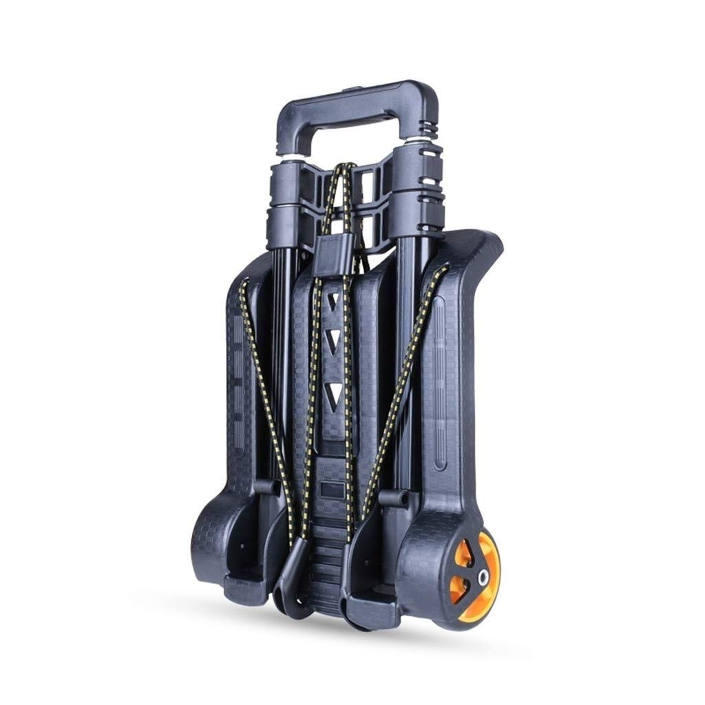 ASdf Travel Trolley Folding Compact Lightweight Durable Luggage Cart | Quiet Wheeling Sports & Medical Equipment Carrier