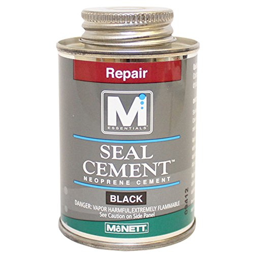 Black Cement (Seal Cement Neoprene Adhesive, Black, 4 oz. Can)
