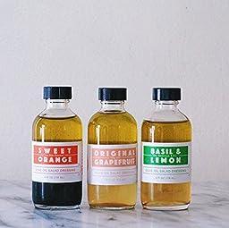 Casa de Sante Low FODMAP Salad Dressing (Variety Pack) - No Onion No Garlic Low FODMAP Certified Artisan Essential Oil Balsamic Vinaigrette Salad Dressing, Paleo