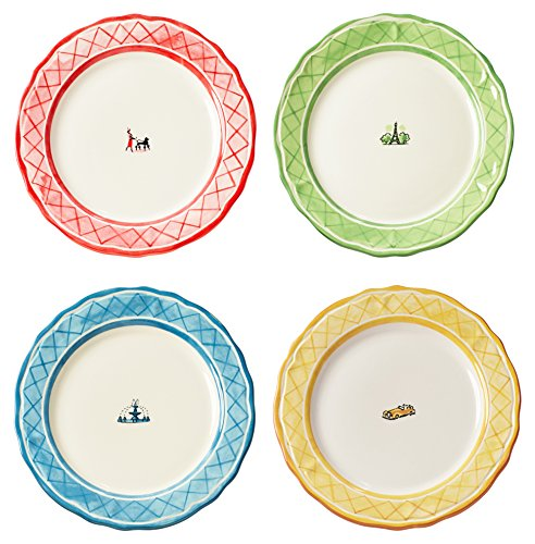 Evergreen Dinnerware Collection - Euro Ceramica Turner Classic Movie's An American in Paris Collection 11
