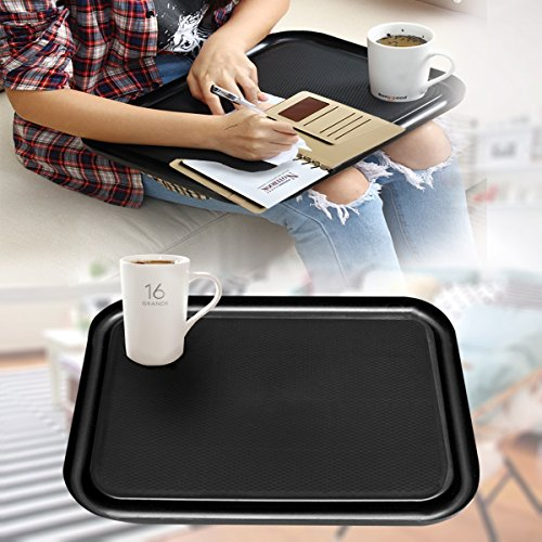 SAFETYON Handy Lap Top Tray Holder Laptop Table Outdoor Breakfast Learning Desk Quality Laptop Lap Desk TV Tray by SAFETYON