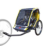 Allen Sports 2-Child Bicycle Trailer & Stroller, Model S2-Y