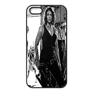 The walking dead season 5 hard pattern case cover For Apple Iphone 5 5S Cases TV-WALKING-S53864