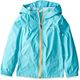 Columbia Big Girl's Switchback Rain Jacket, Geyser, L