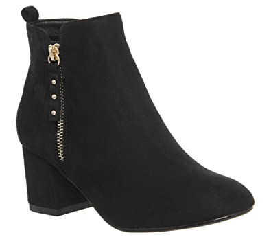 e1fea45f9568 Office Alicia Side Zip Boots  Amazon.co.uk  Shoes   Bags