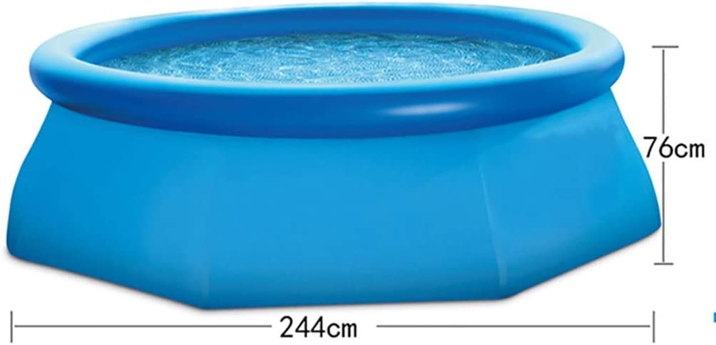 Piscinas Hinchables, Fast Set Piscina-azul-183 × 51 Cm / 244 × 76 ...