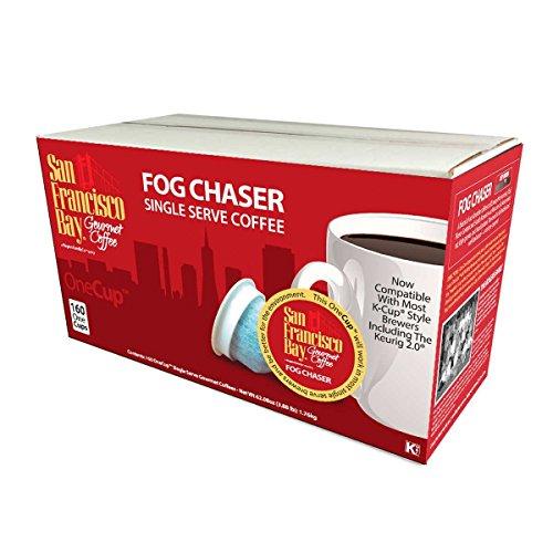 San Francisco Bay Coffee Fog Chaser Coffee OneCup, 160 Count by San Francisco Bay Coffee (Image #3)
