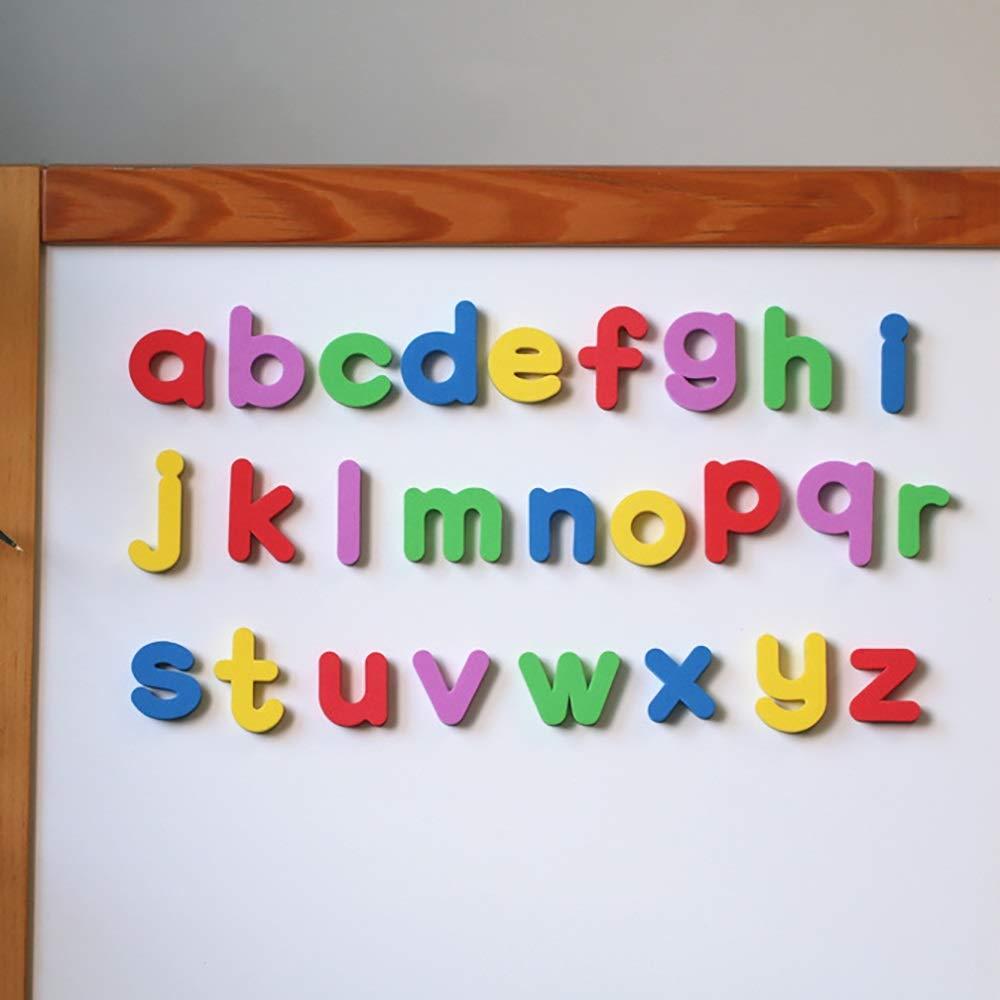 Jouet d'apprentissage enfant Lettres et chiffres d'apprentissage magnétique pour les enfants, Lettres d'alphabet magnétique pour l'éducation préscolaire, Compter, Orthographe , Réfrigérateur Pour les