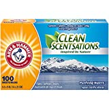 Arm & Hammer Clean Scentsations Fabric Softener Sheets, Purifying Waters, 100 Count