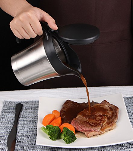 Double insulated gravy boat