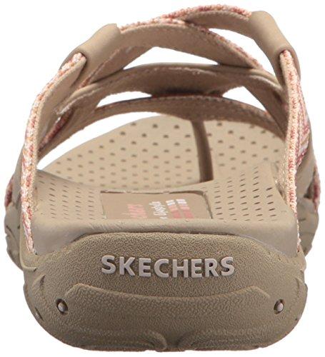 De Natural Sandalias Piso Skechers Talla Mujeres 1XBqWWwxE