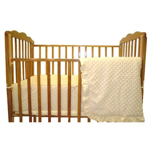 American-Baby-Company-Heavenly-Soft-Minky-Dot-3-Piece-Porta-Crib-Set