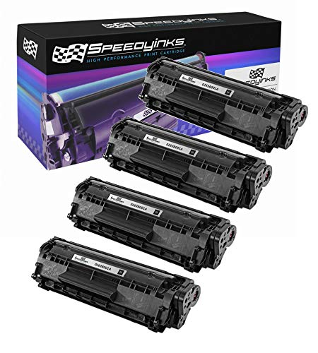 Speedy Inks Compatible Toner Cartridge Replacement for Canon 104 0263B001A FX9 (Black, 4-Pack)