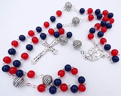 CLEVELAND PRO BASEBALL CATHOLIC ROSARY BEADS