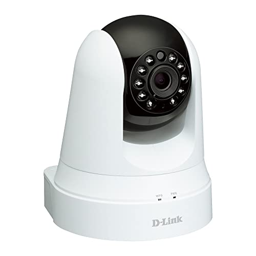 D-Link Caméra IPmydlink Wireless N motorisée vision de jour et de nuit - Capteur progressif CMOS VGA résolution Megapixel- Surveillance intérieure jour & nuit(DCS-5020L)