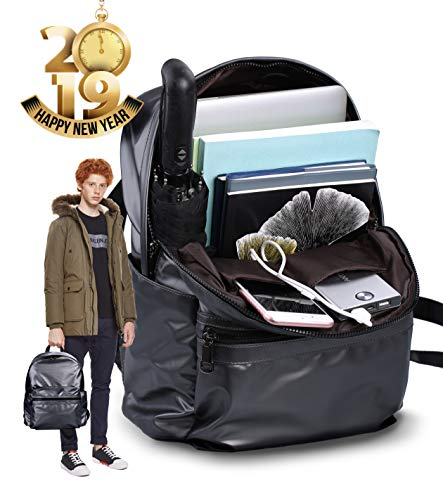 Lightweight Casual Daypack Backpack Fashion Backpack for Men Women - School Backpack Silver Grey Water Repellent for Student Campus Travel Work College 13