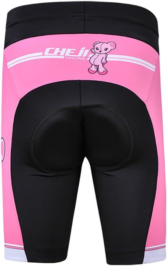 Pantalones Cortos Ciclismo LSHEL Maillot de Cilismo para Ni/ños y Ni/ñas,Conjunto de Camiseta Ciclismo de Bicicleta