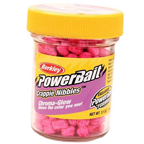 PowerBait Chroma Glow Crappie Nibbles Dough