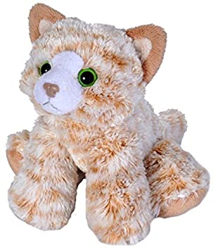 Amazon Com Wild Republic Tabby Cat Plush Stuffed Animal Plush Toy
