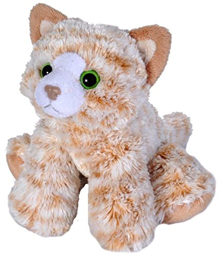 Wild Republic Tabby Cat  Plush, Stuffed Animal, Plush Toy, Gifts for Kids, Orange, Hug'Ems 7