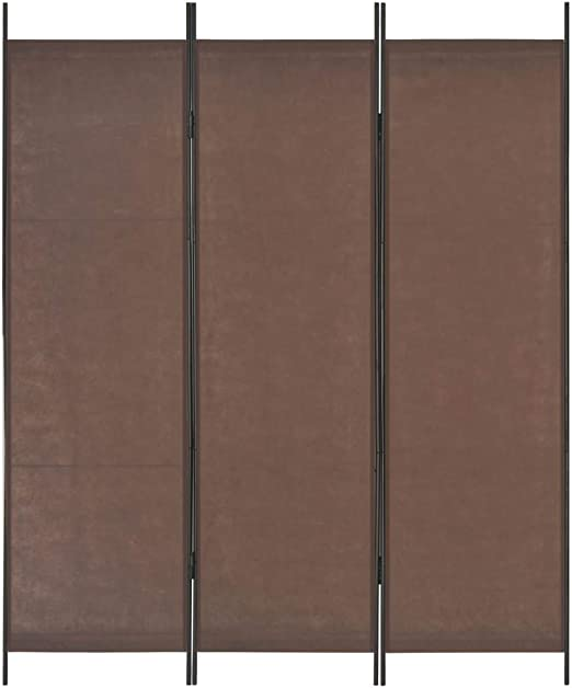 vidaXL Biombo Divisor de 3 Paneles 150x180 cm Hogar Interior ...