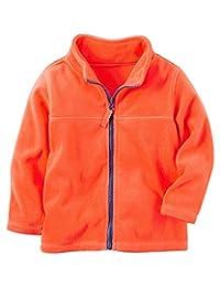 Carter's Little Boys' Zip-Up Heavyweight Fleece Jacket