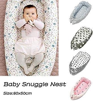 FOONEE Lounger para Beb/és Cama de Capullo para Reci/én Nacidos Cocoon para 0-2 A/ños Mois/és Reci/én Nacidos para Beb/és Reci/én Nacidos S/úper Suaves y Transpirables