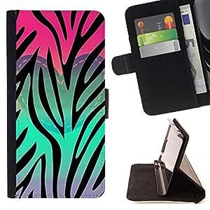 Momo Phone Case / Flip Funda de Cuero Case Cover - Corazón del trullo Rosa Púrpura Patrón - LG G4c Curve H522Y (G4 MINI), NOT FOR LG G4