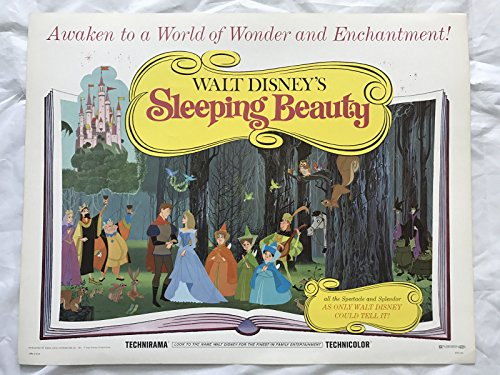 """SLEEPING BEAUTY"" 1970 ORIGINAL MOVIE POSTER FIRST ISSUE 22X28 DISNEY from Does not apply"