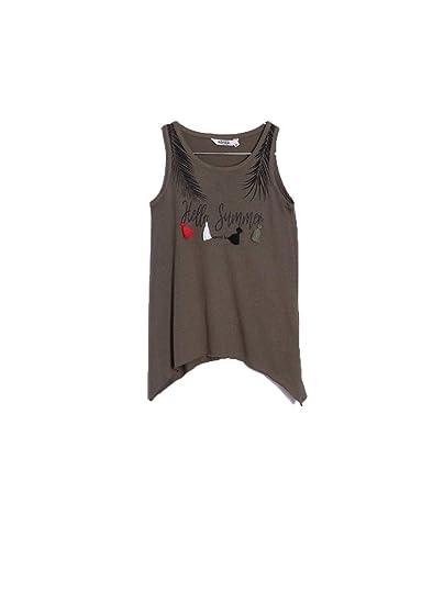 2f0844562a78e Kaporal Débardeur Fille Luna Treill  Amazon.fr  Vêtements et accessoires