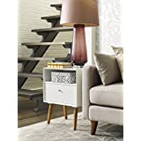 Elle Decor Lilou Side Table, White