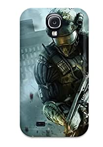 New Cute Funny Crysis 2 Nanosuit Case Cover/ Galaxy S4 Case Cover