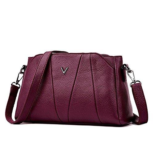 mère en mûr unique sac de Aoligei souple à la coréenne bandoulière d'âge nouvelle portable cuir C La sac version qOwOZP